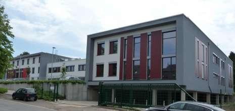 Bâtiments de l'école AHS – Haute école autonome à Eupen – 19.000 m² - 2012 à 2013
