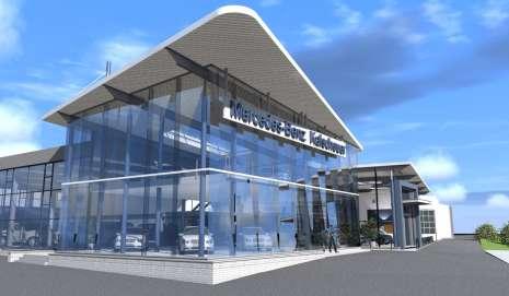 Garage Mercedes-Benz Kalscheuer à Alleur - 2014